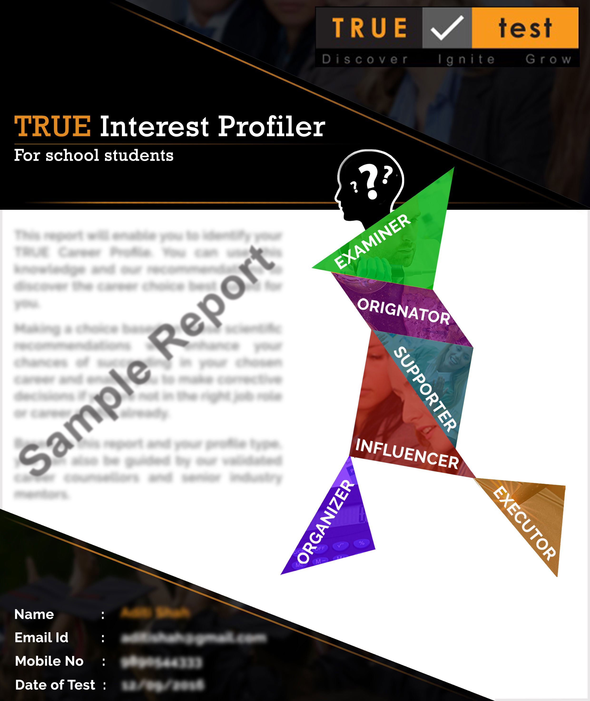 career interest profiler Misleading career assessments as you are aware, there has been a profusion of new career tests, quizzes, sorters, finders, and profilers on the internet in addition, many companies are selling educational or career guidance website systems that use such tests.